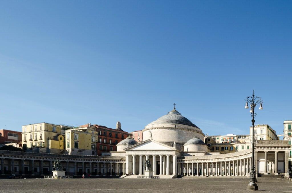 Piazza del Plebiscito Neapel