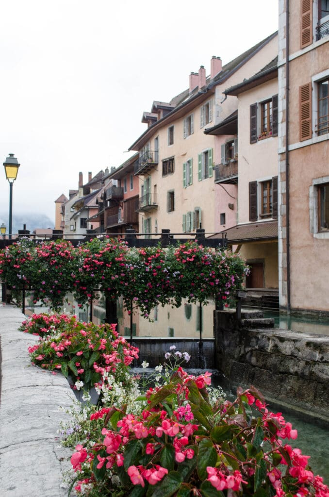 Annecy Schleuse am Thiou