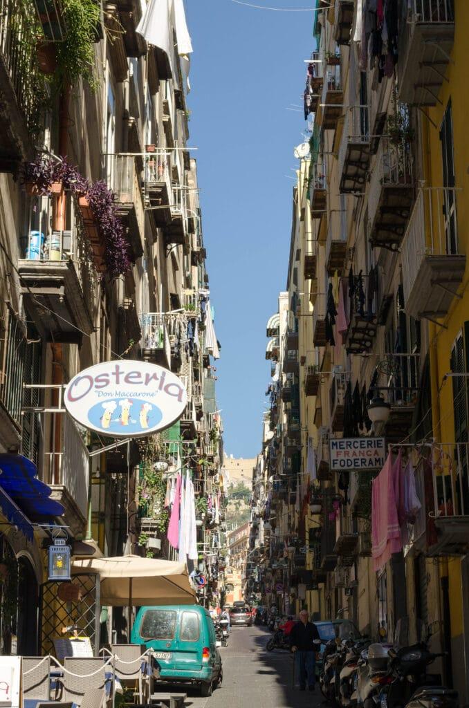 Quartieri Spagnoli Neapel