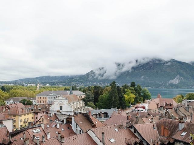 Lac d'Annecy, Aussicht vom Schloss