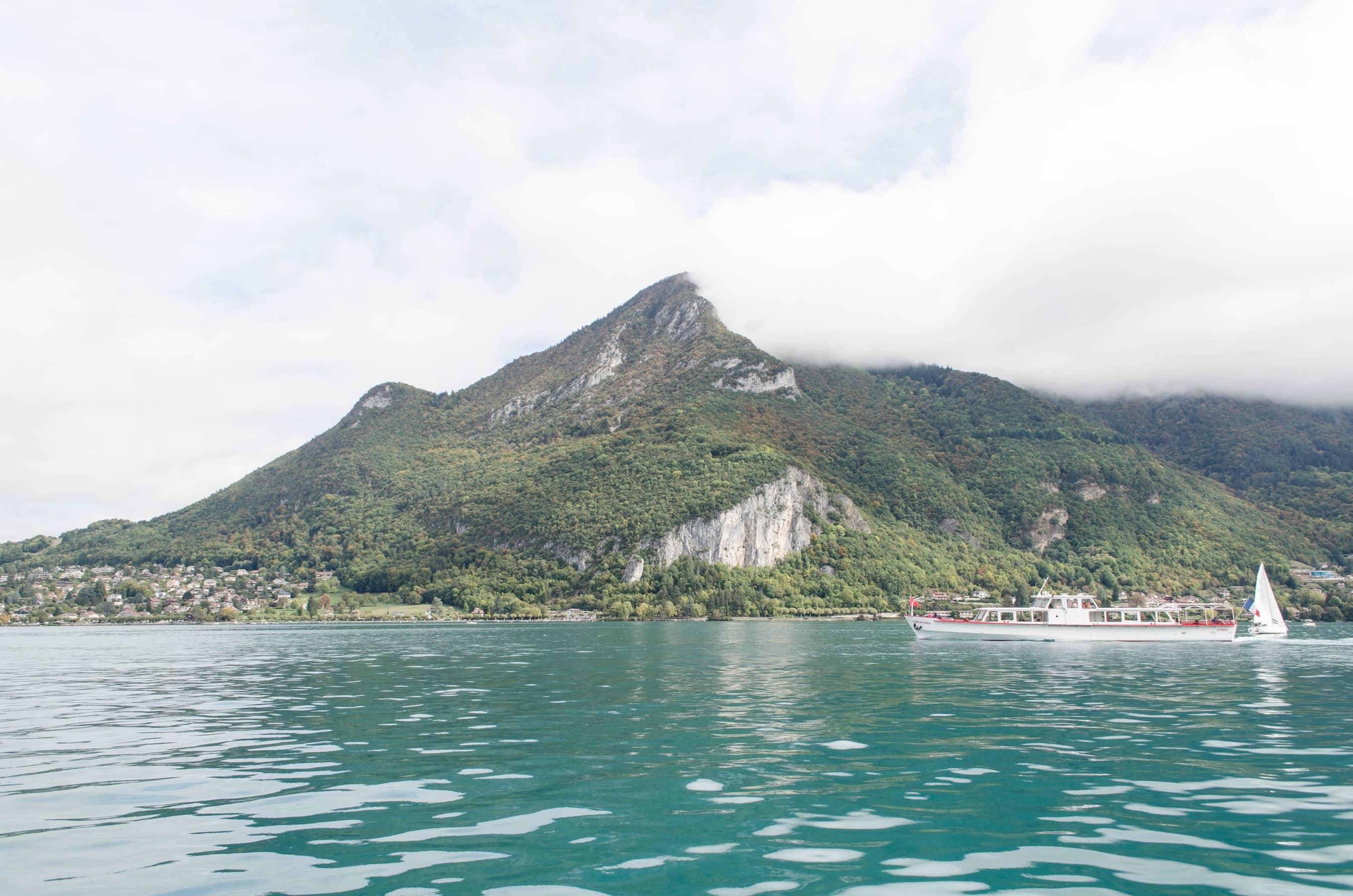 Rundfahrt auf dem Lac Annecy