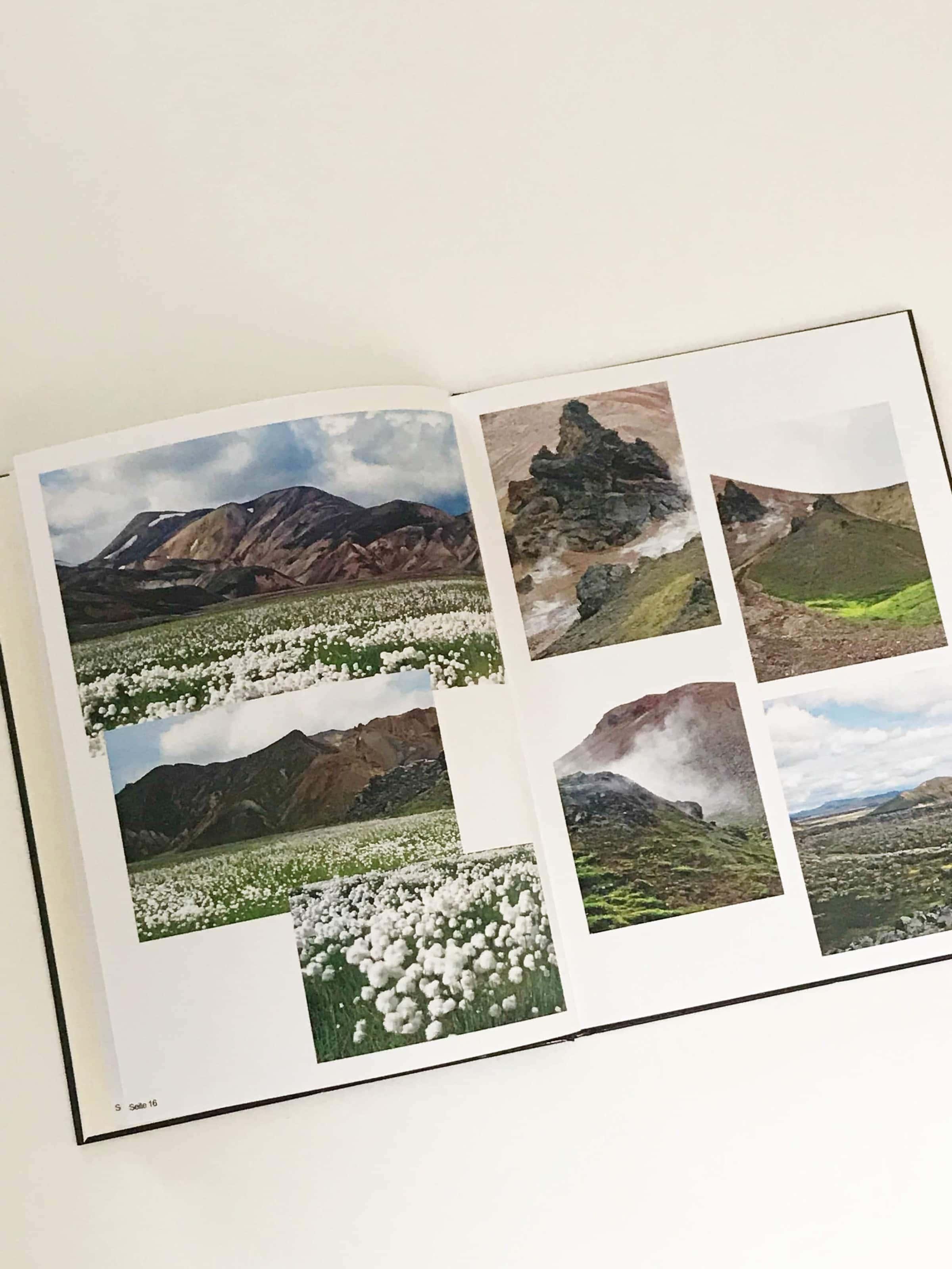 CEWE-Fotobuch Island