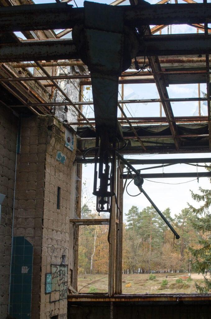 Operationssaal in der Alten Chirurgie der Beelitz-Heilstätten