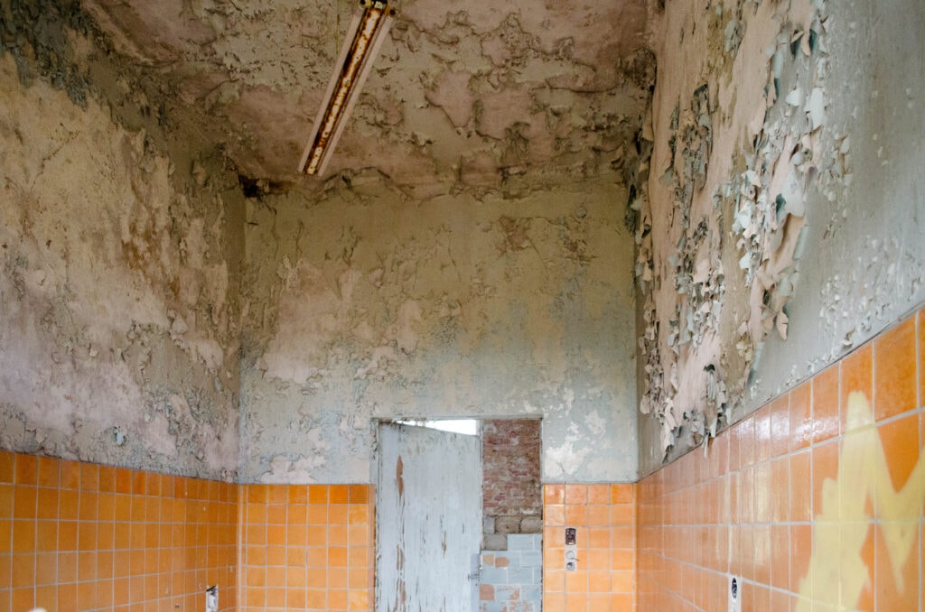 Zimmer in den Beelitz-Heilstätten