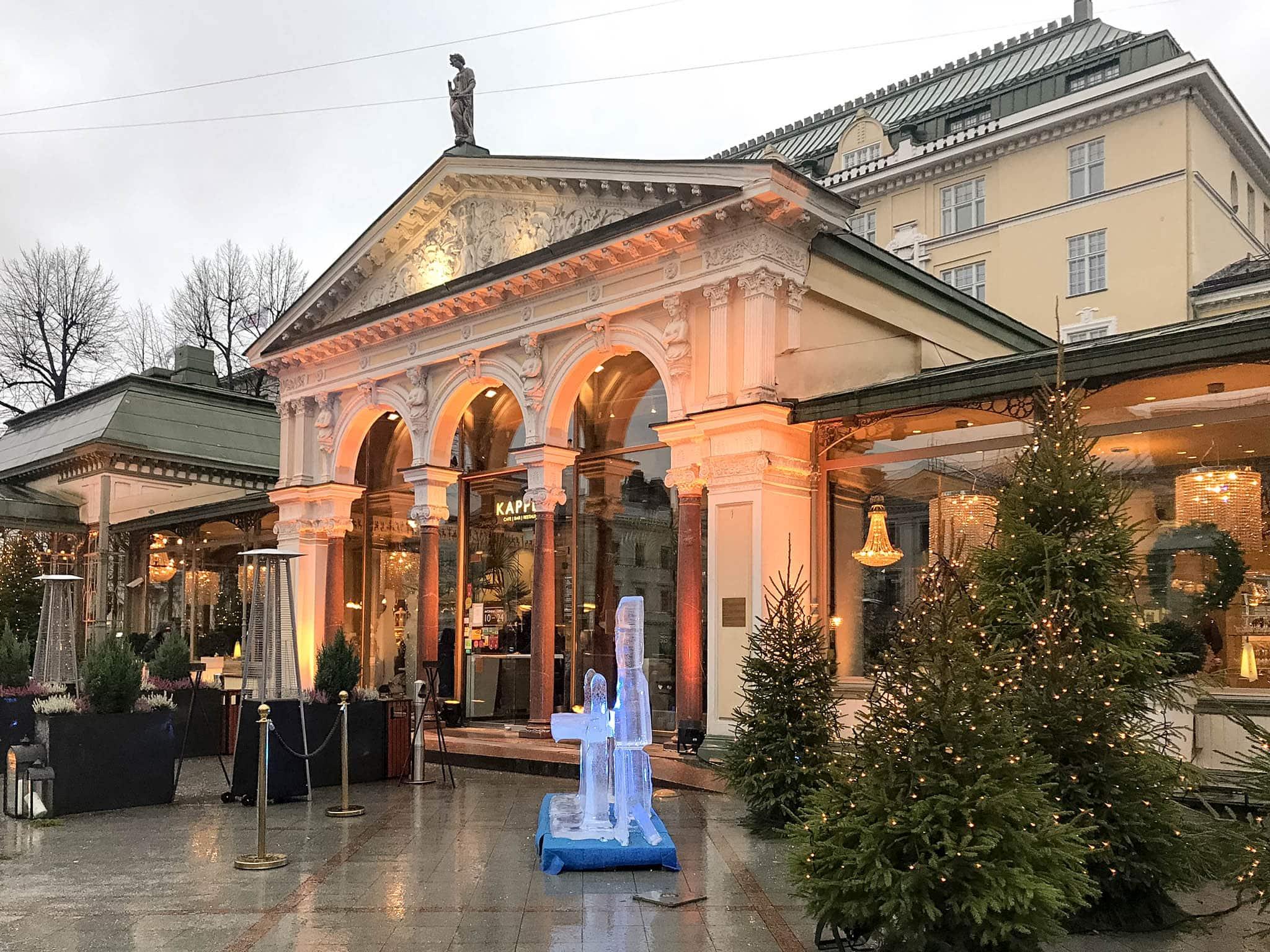 Esplanaden Café in Helsinki
