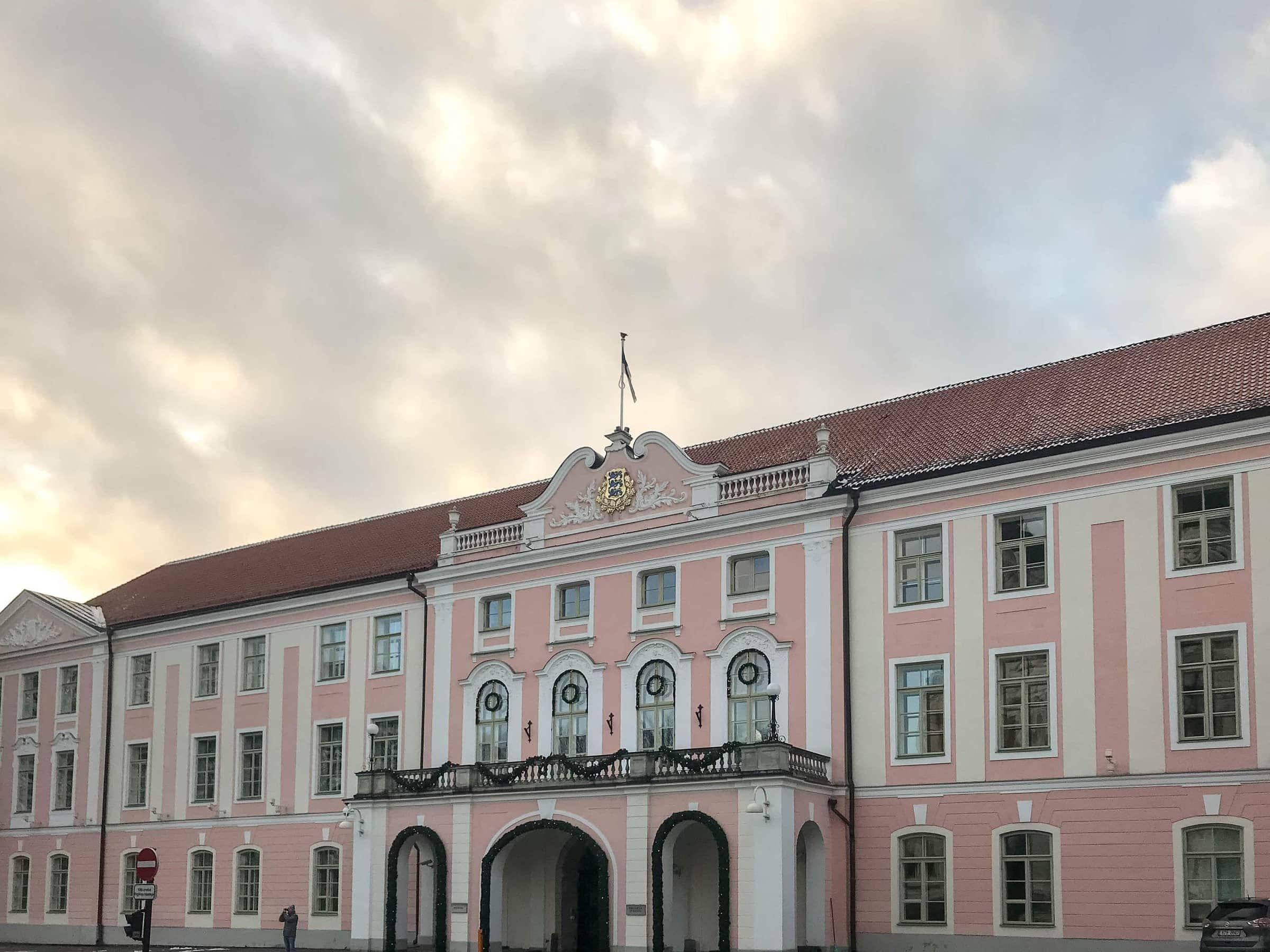 Tallinn Schloss am Domberg