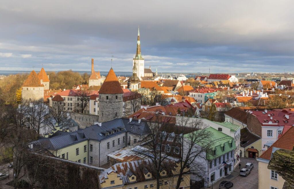 Aussicht vom Domberg in Tallinn