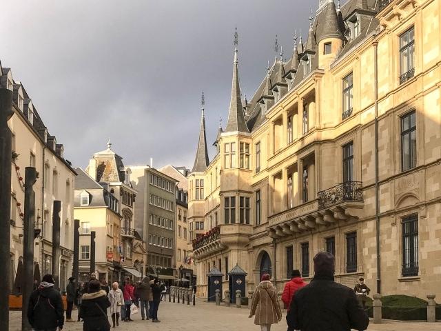 Großherzoglicher Palast in Luxemburg