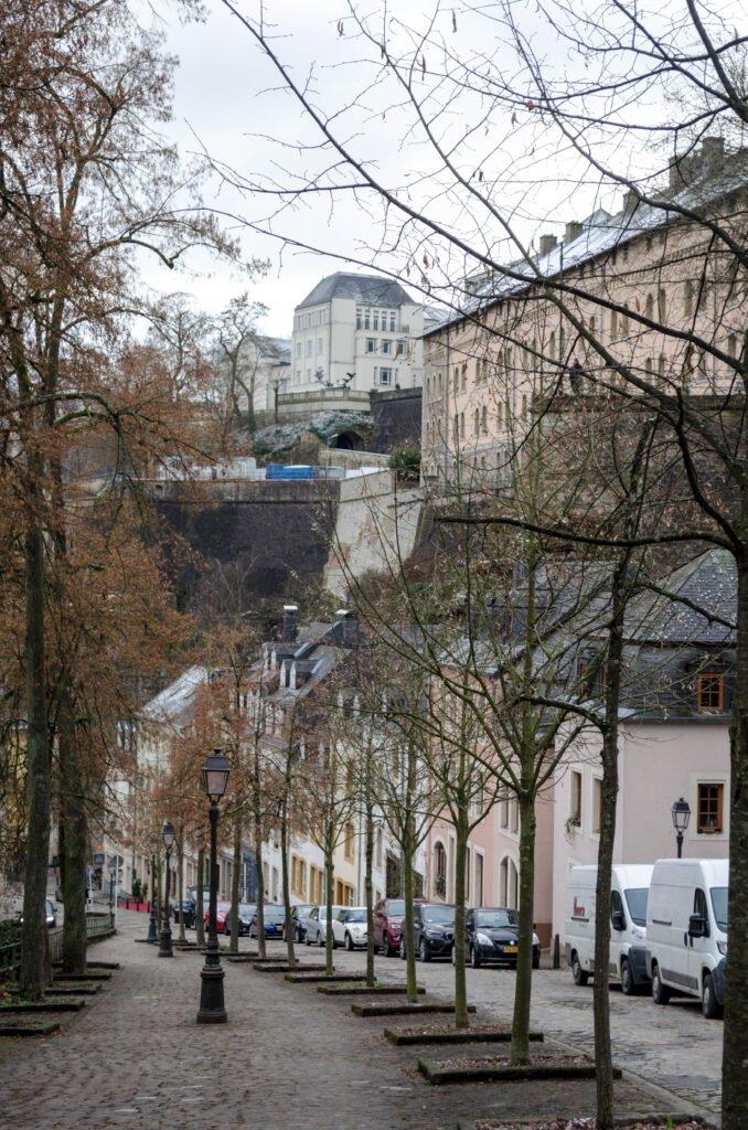 Chemin de la Corniche Luxemburg