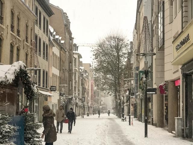 Luxemburg Fußgängerzone