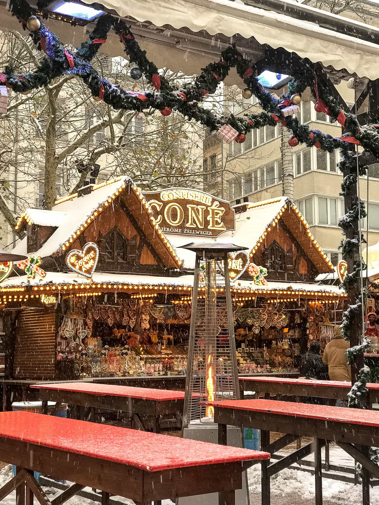 Luxemburg Weihnachtsmarkt Place des Armes