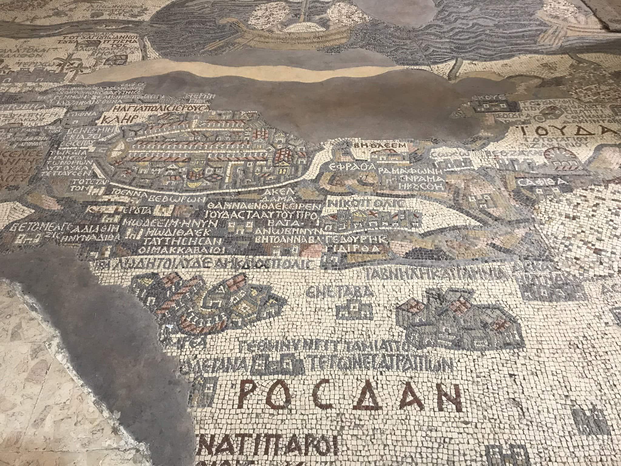 Madaba Mosaik Jordanien