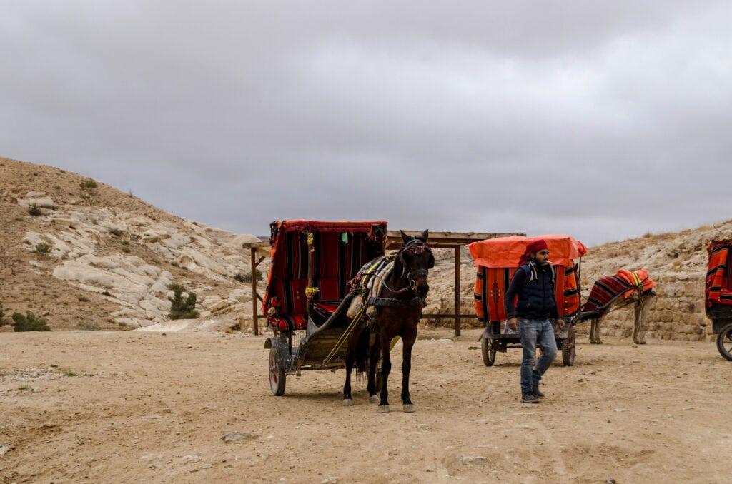 Eingang Petra