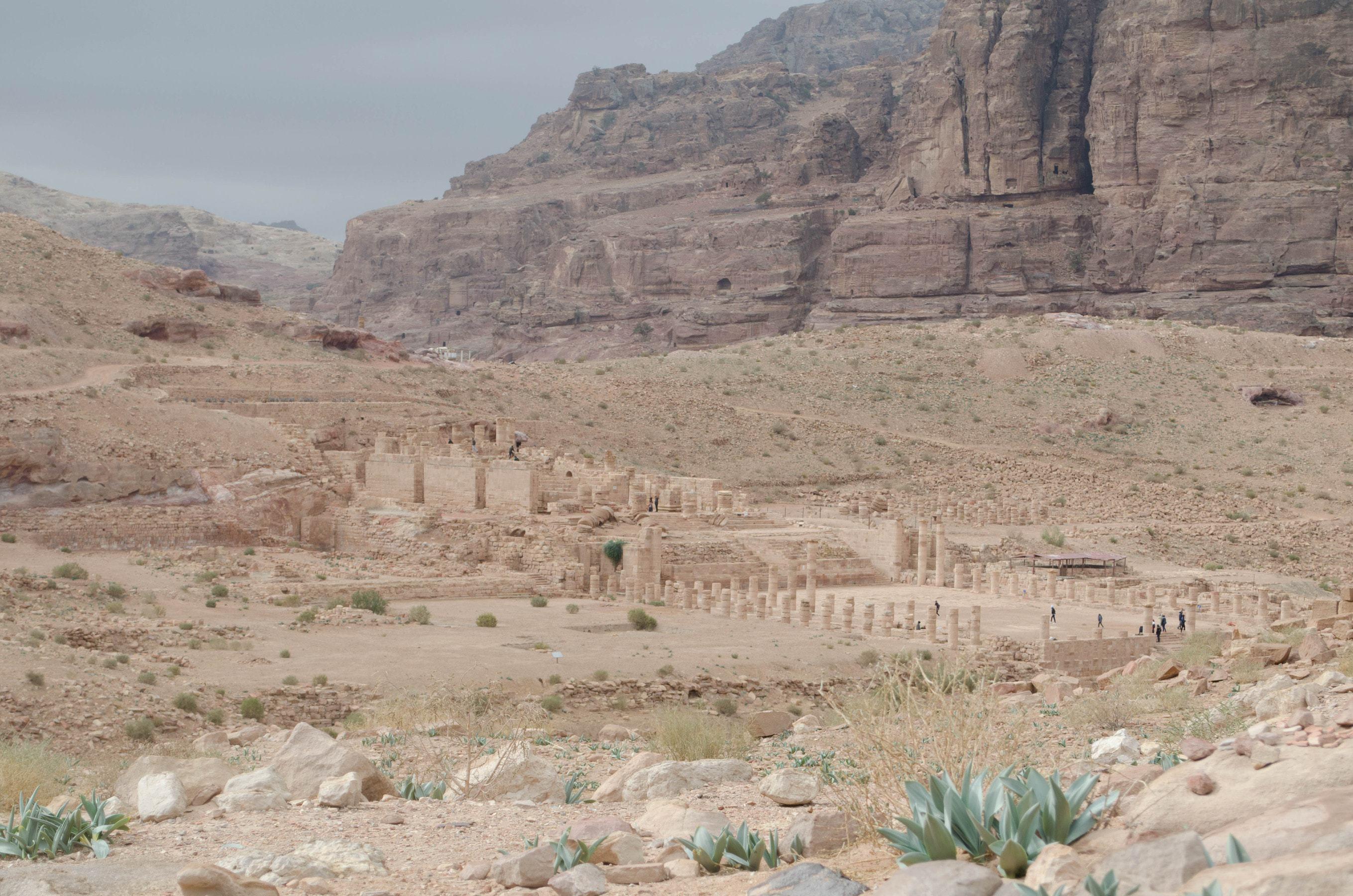 großer Tempel in Petra