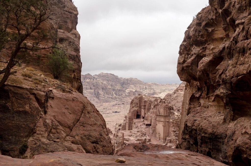 Aussichtspunkte in Petra