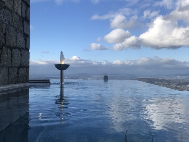 Alpine Spa am Bürgenstock Infinity Edge Outdoor Pool