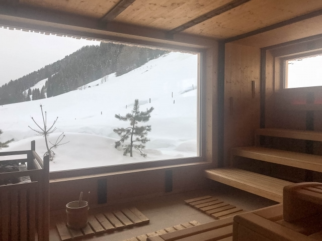 Sauna im Wellvitalhotel Bergblick in Balderschwang