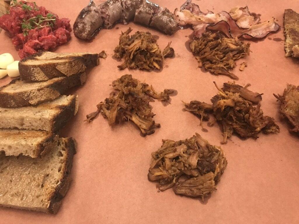 Taste of Prague Fleisch- und Wurstvariationen im Kantyna