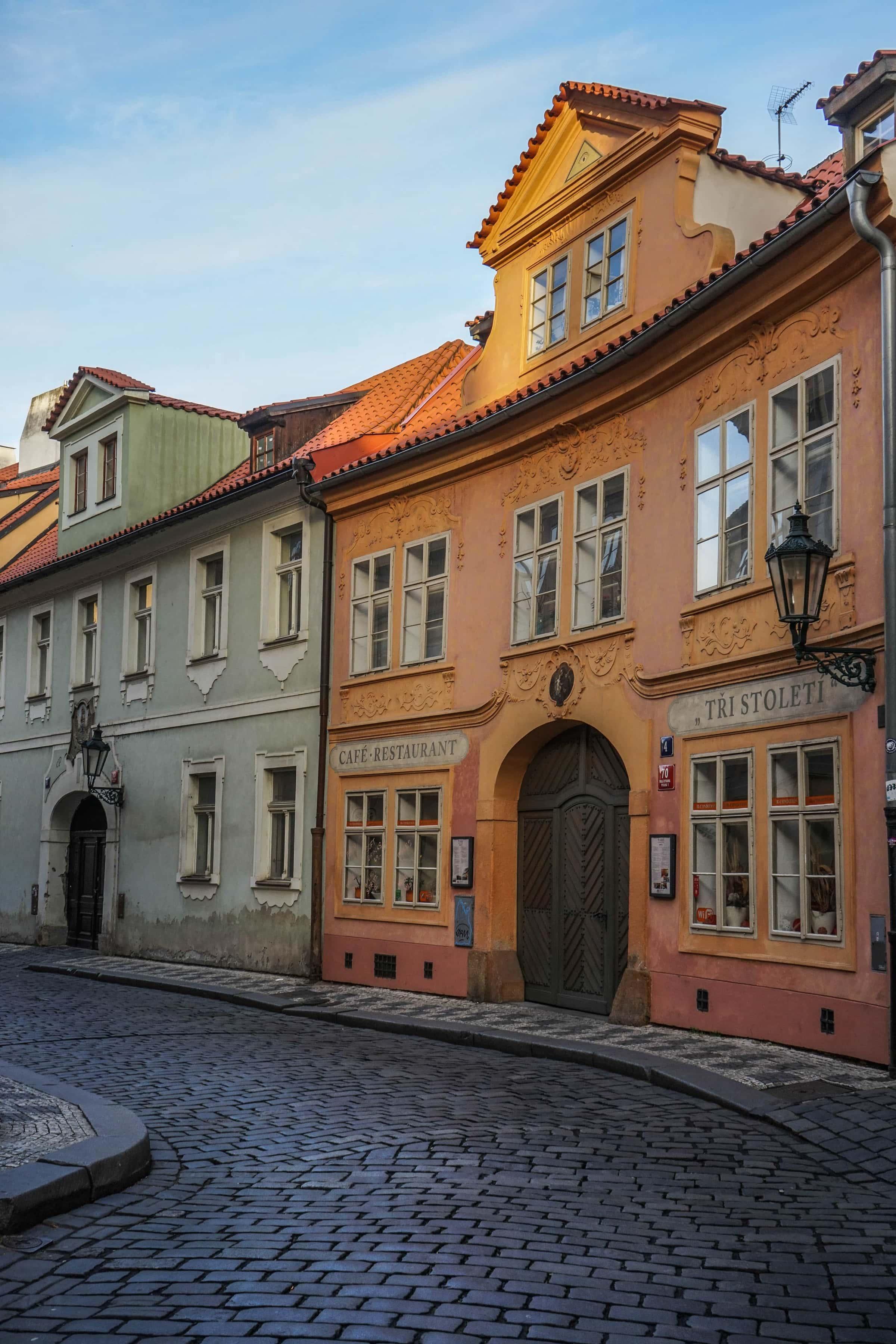 Fotospots in Prag: die Míšenská-Gasse auf der Kleinseite
