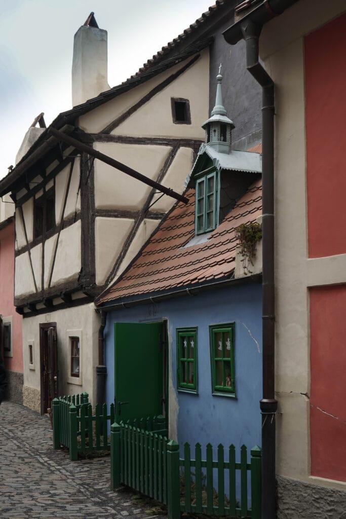 Sehenswürdigkeiten in Prag: Goldenes Gässchen am Hradschin