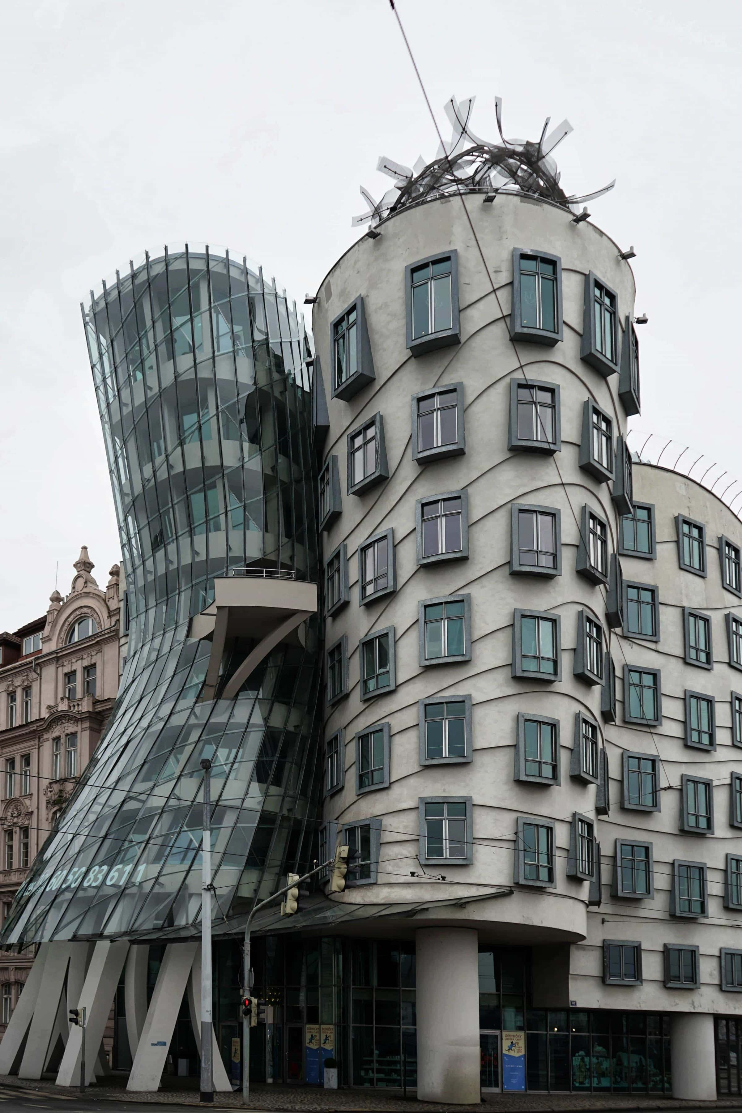 Sehenswürdigkeiten in Prag: Tanzendes Haus