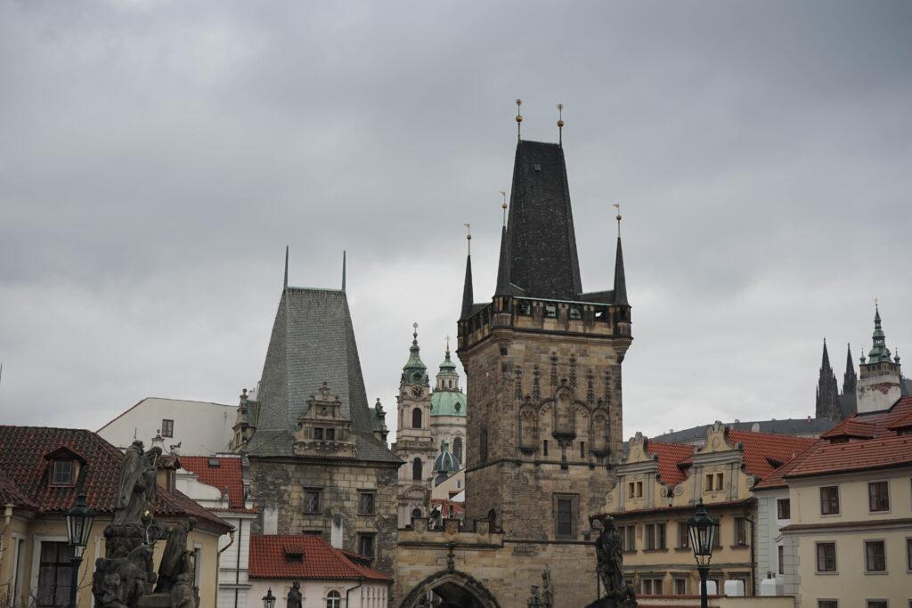 Sehenswürdigkeiten in Prag: Karlsbrücke auf der Kleinseite