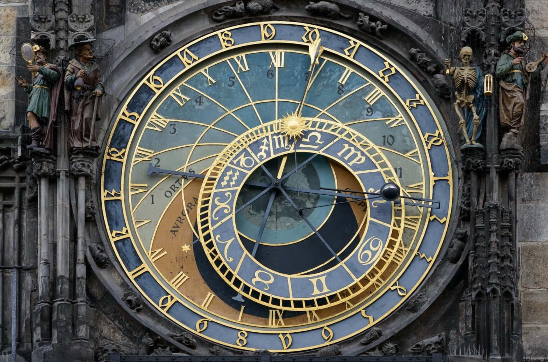 Sehenswürdigkeiten in Prag: astronomische Uhr am Altstädter Ring