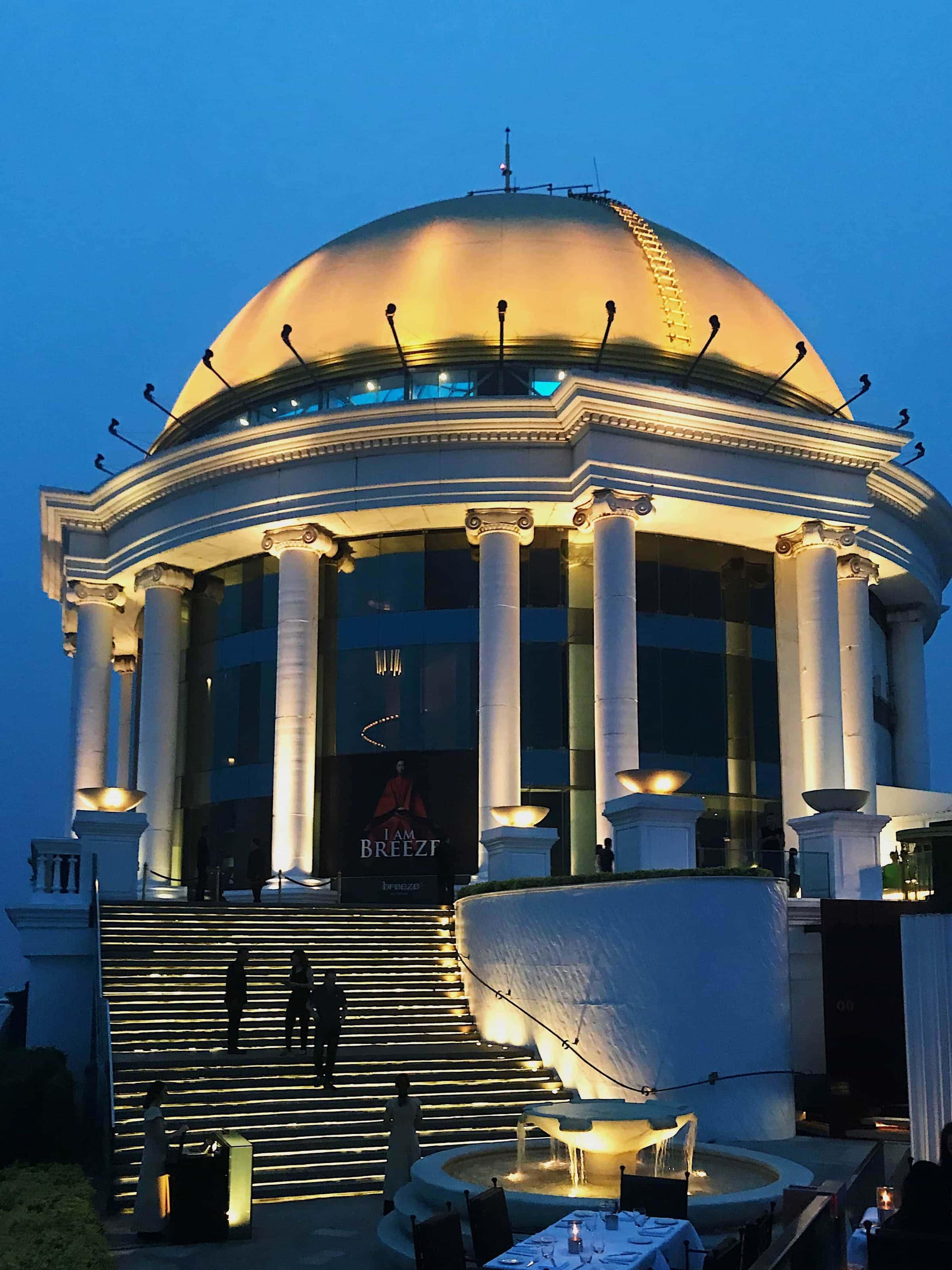 Kuppel am Lebua State Tower Bangkok