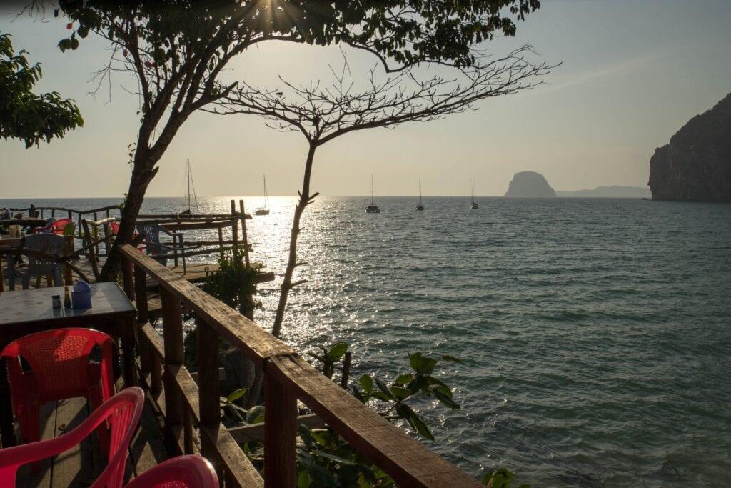 Ko Mook Restaurant Viewpoint (Segeln in Thailand)