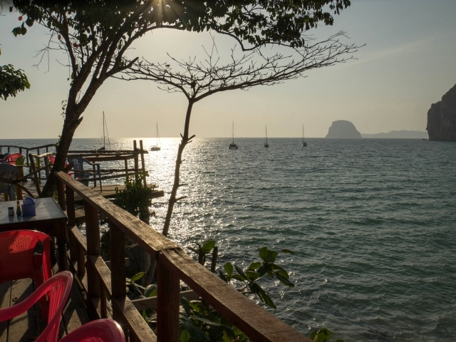 Ko Mook Restaurant Viewpoint (Segeln in Thailand)