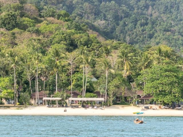 Strand von Ko Mook (Segeln in Thailand)
