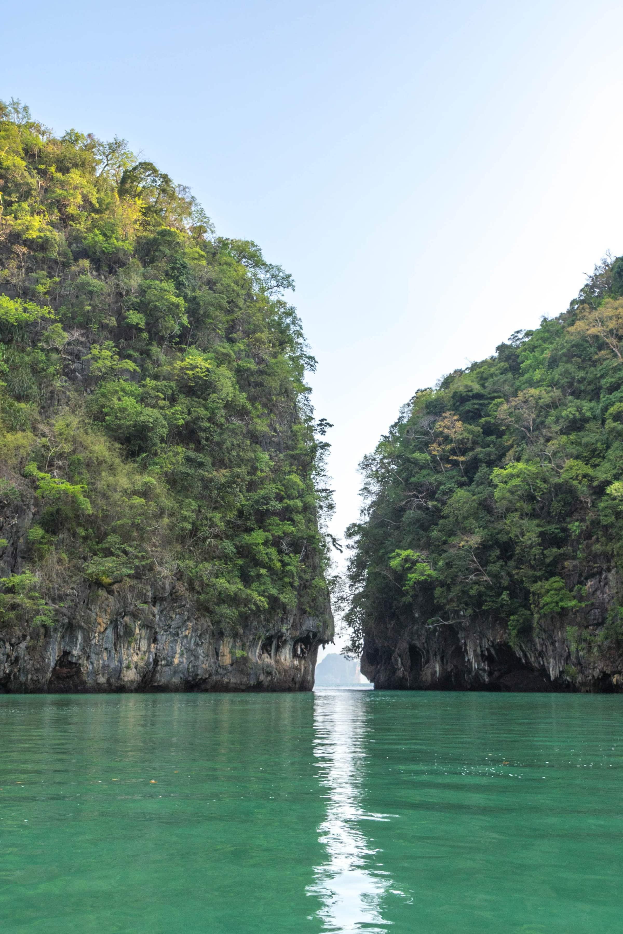 Lagune auf Ko Hong (Segeln in Thailand)
