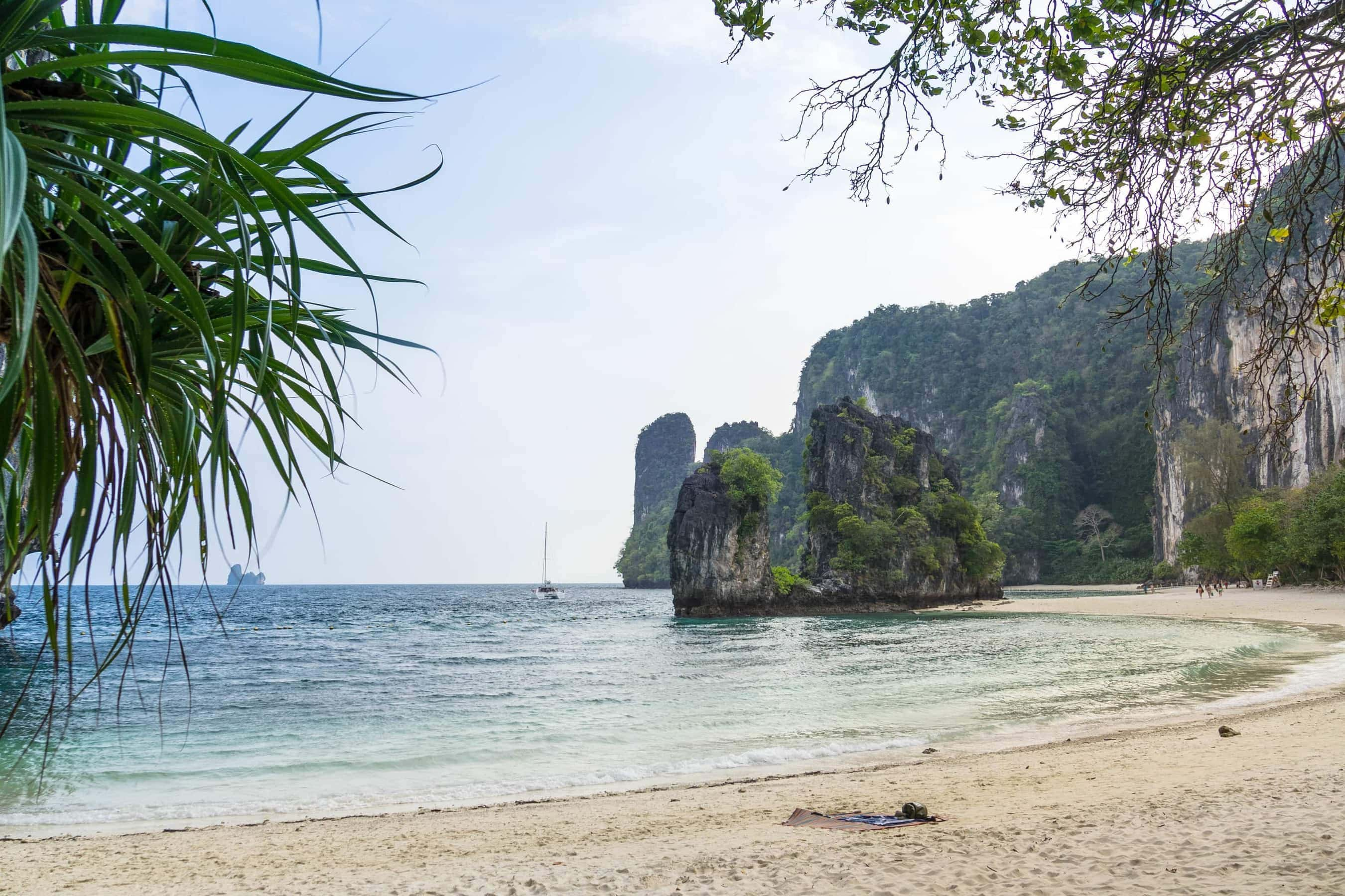 Bucht von Ko Hong (Segeln in Thailand)