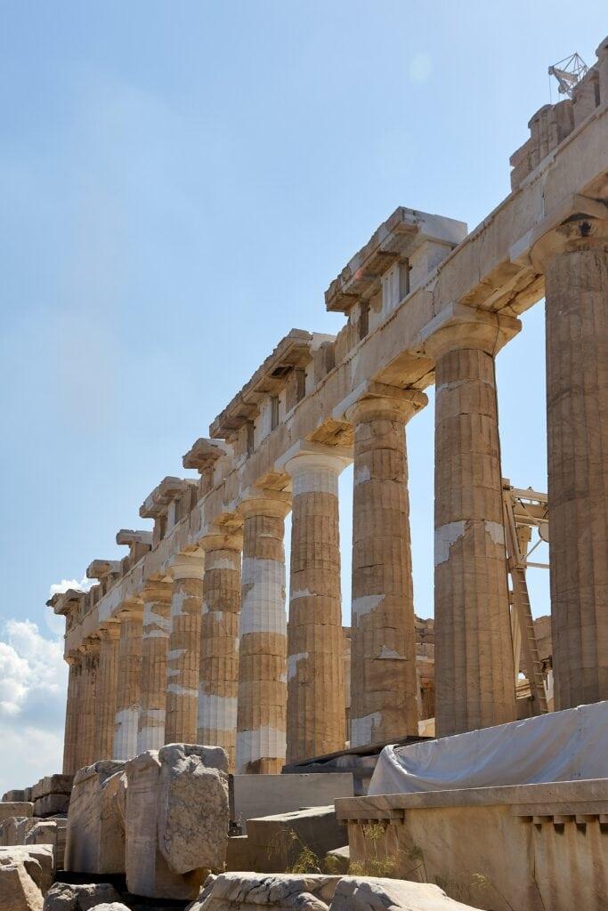 Parthenon auf der Akropolis in Athen