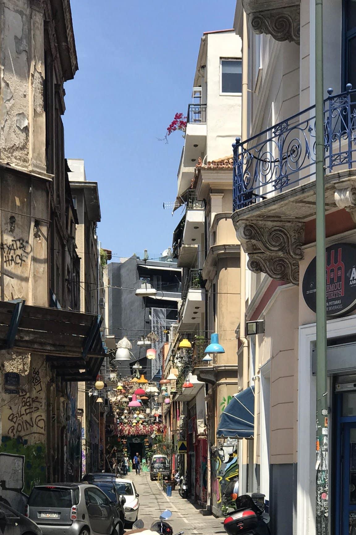 Psiri-Viertel in Athen