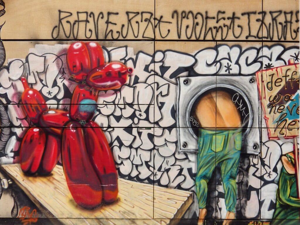 Street Art im Psiri-Viertel in Athen