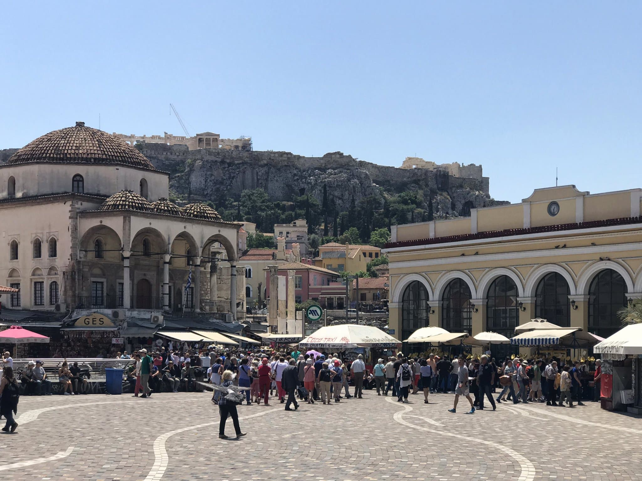 Monastiraki-Platz in Athen