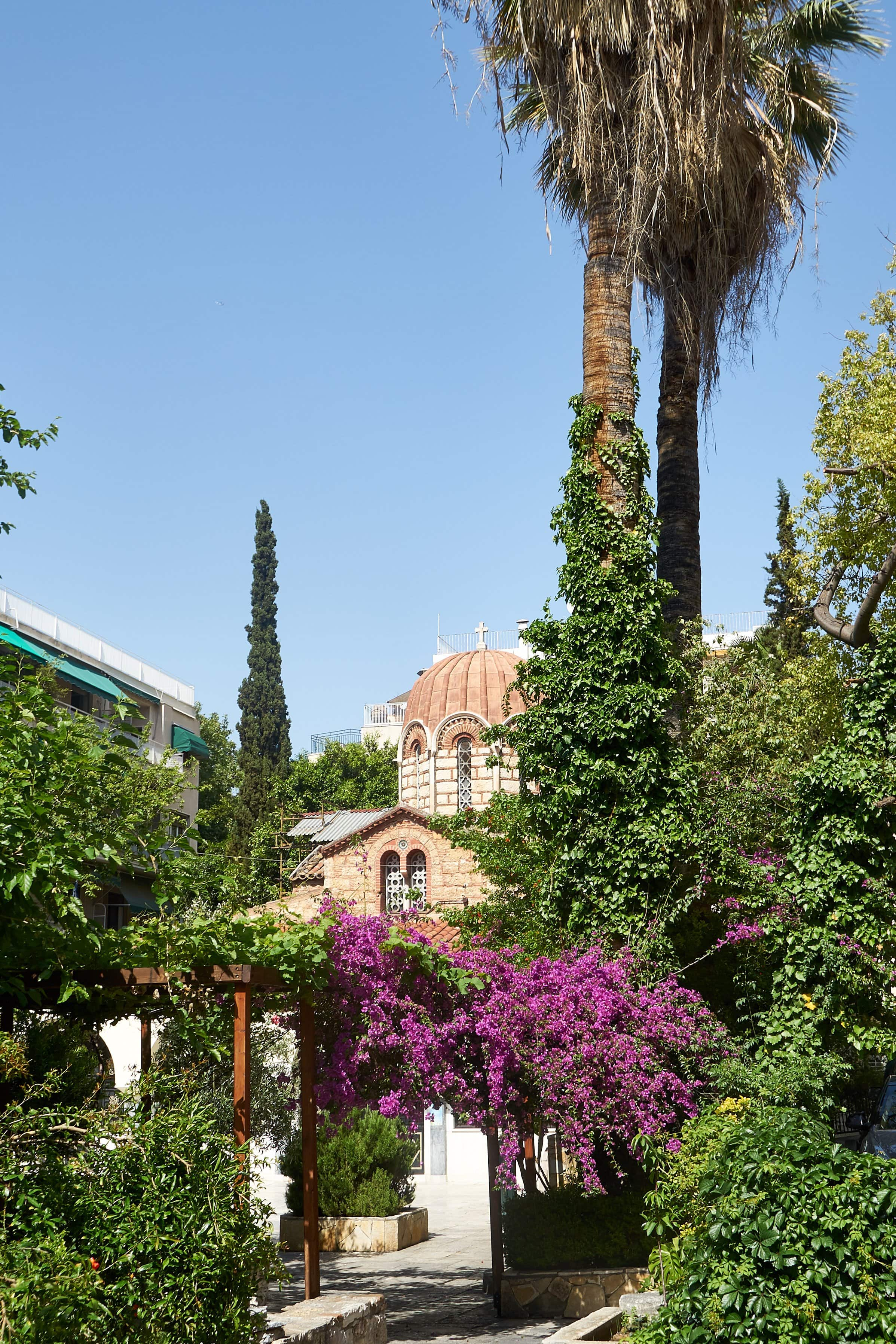 Panagia Kapnikarea in der Ermou in Athen