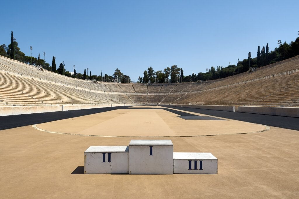 Panathinaiko-Stadion in Athen