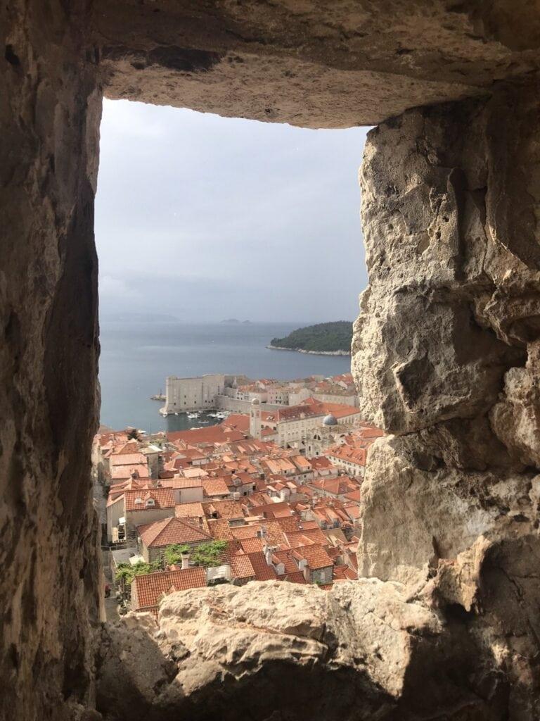 Ausblick vom Minceta Turm in Dubrovnik