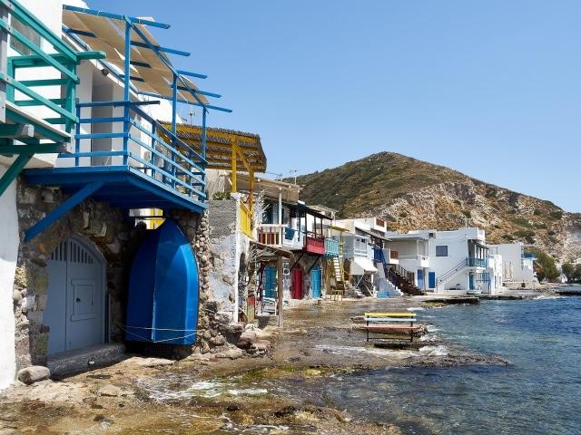 Klima, einer der schönsten Plätze auf Milos