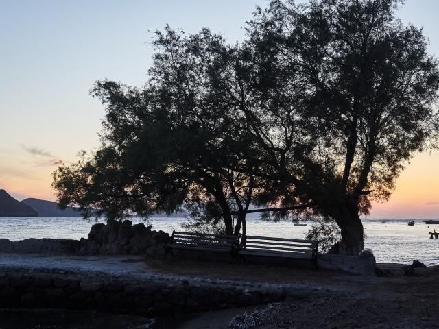 Sonnenuntergang in Klima