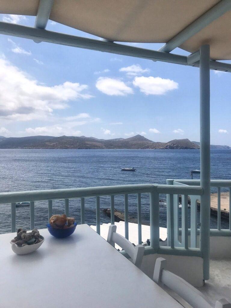 Terrasse der Honeymoon Klima Suite