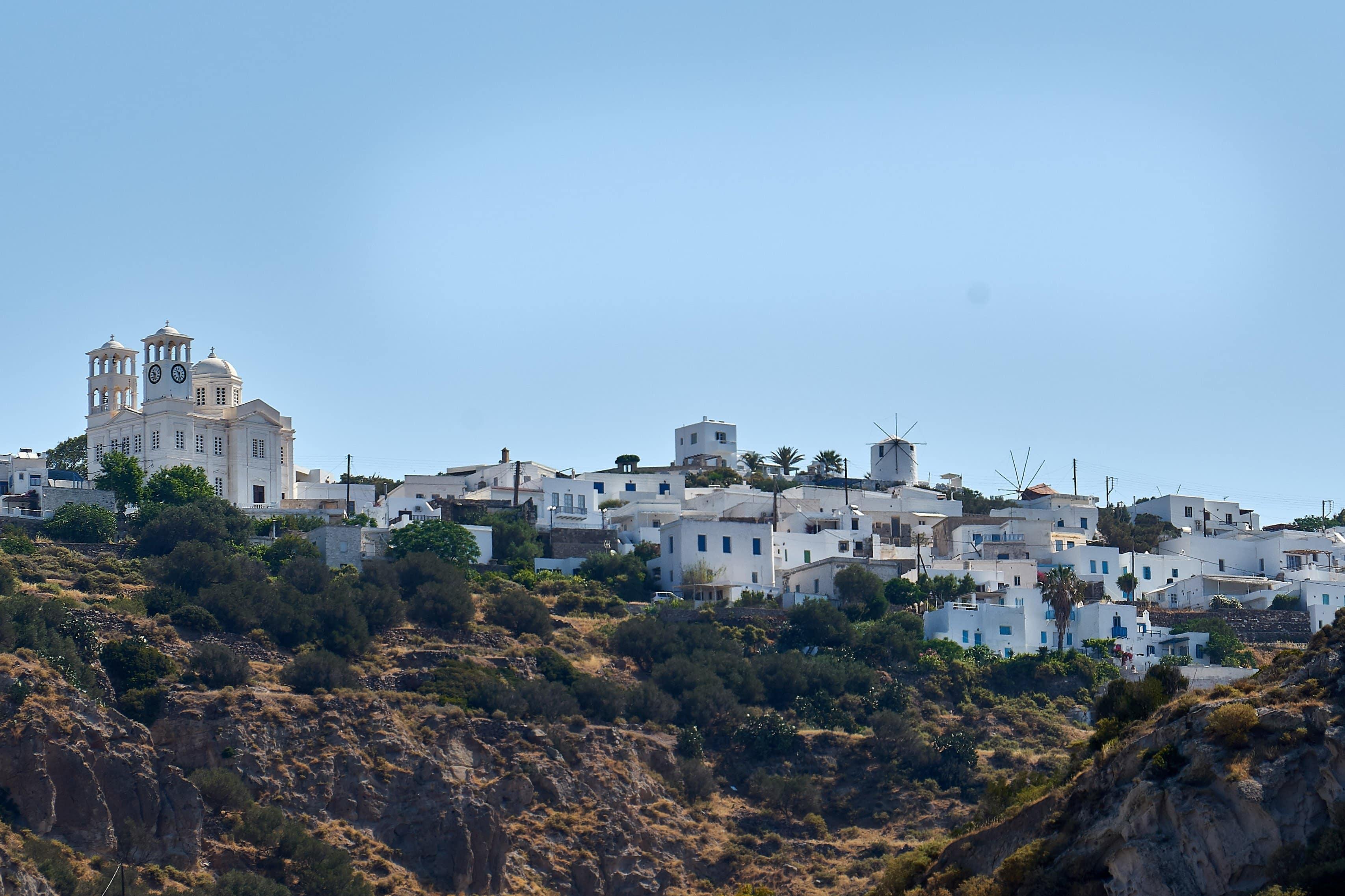 Ortschaft Tripidi auf Milos