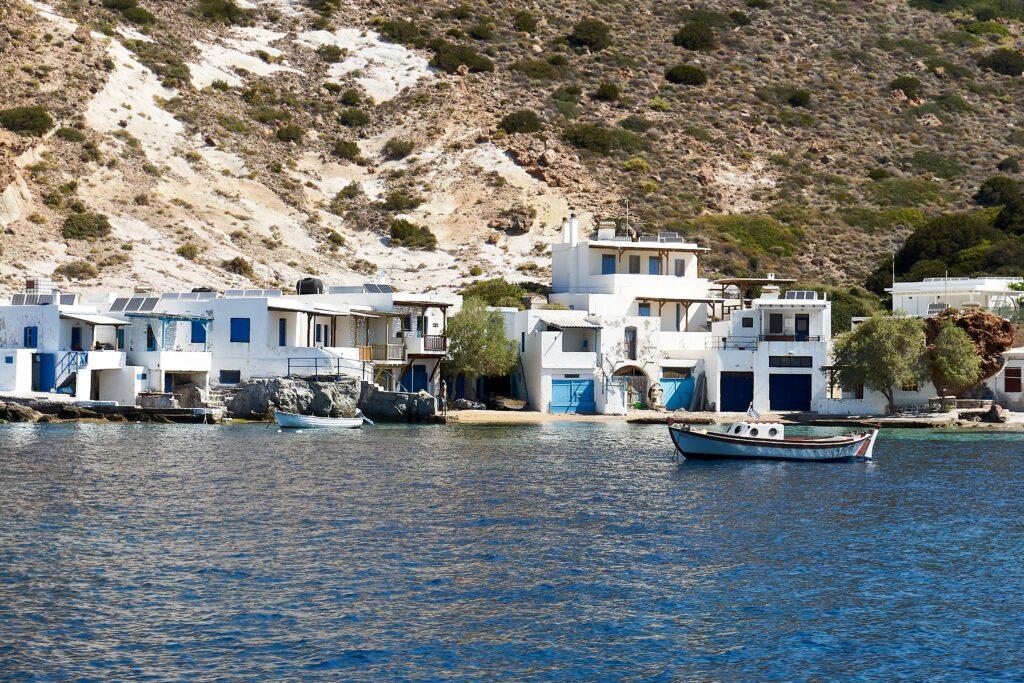 Fischerdorf Areti auf Milos