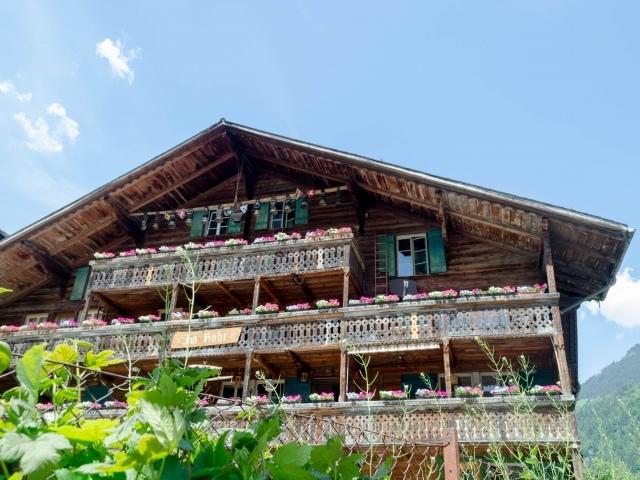 altes Haus in Lauterbrunnen