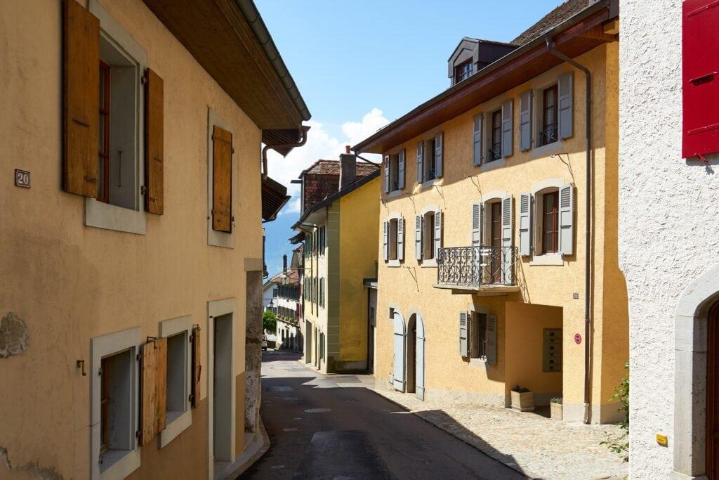 kleine Dörfer im Lavaux