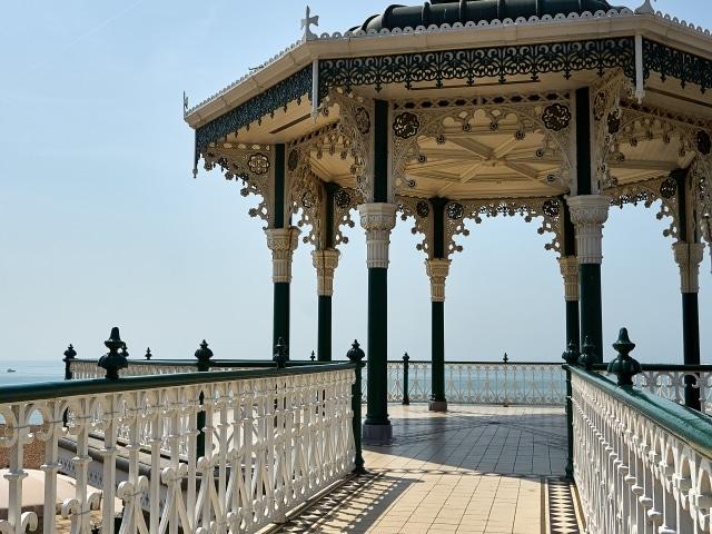 Bandstand Pavillion in Brighton