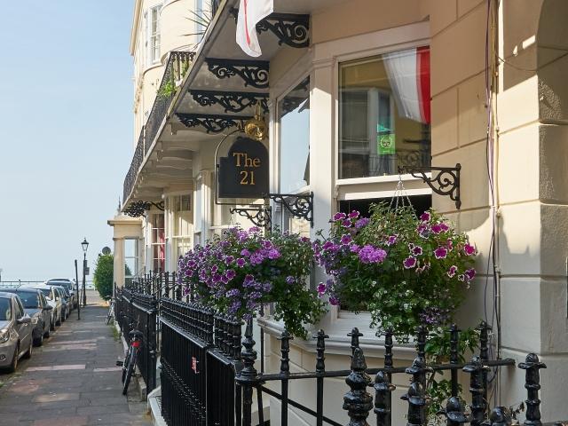Charlotte Street in Kemptown Brighton