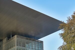 Dach des Kultur- und Kongresszentrums in Luzern
